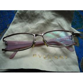 Belíssimo,luxuoso Óculos Italiano De Grau Fem.bulgari,2000
