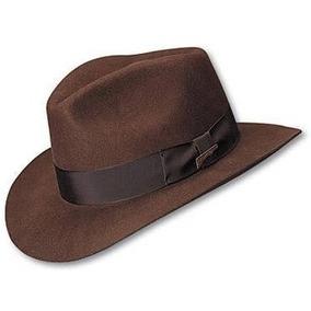 e5b6ba544b22c Sombrero Fedora De Lana Indiana Jones 100 Original Oficial en ...