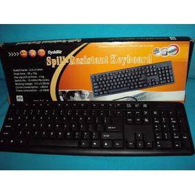 Teclado Computador / Notebook Usb Preto