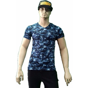 Playera Militar Corte Slim Fit