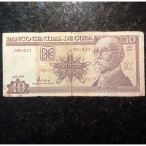 10 Pesos Cubanos - Ano 2004 - Casa Baiana Da Moeda