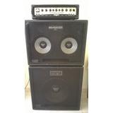 Cabeçote Behringer Bx4500h Ultrabass Com Caixas - Venda!