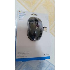 Mouse Microsoft 4000 Wireless Sem Fio Usb Bluetrack
