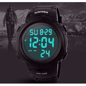 Relógio Masculino Esportivo Skmei 1068 Preto Promoção