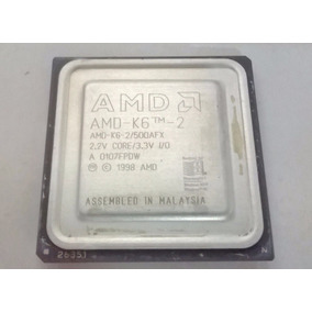 Processador Amd K6-2 500mhz Mmx, 3dnow Sem Testar
