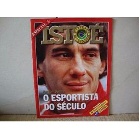 Revista Isto É Especial - Airton Senna - Esportista Século