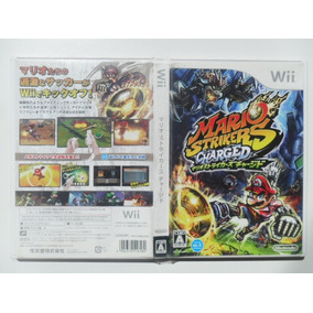 Frete Gratis Mario Strikers Charged Wii Jpn