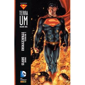 Superman Terra Um Volume 2 Capa Dura Lacrado Frete 12,00