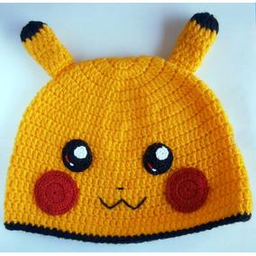 Touca   Gorro Infantil Pikachu Pokemon cbebb2af5e3