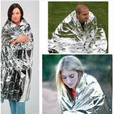 Manta Cobertor Térmico Resgate Emergência Alumínio Sos