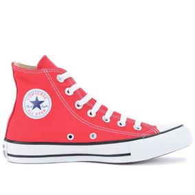 23d7ef53859 Tênis All Star Vermelho Com Branco Tamanho 33 Converse - Tênis no ...