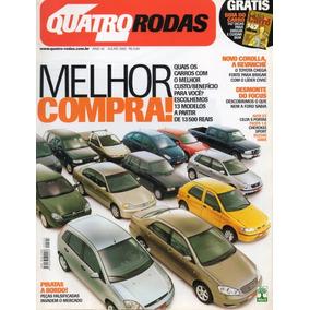 Quatro Rodas Nº504 Melhor Compra Corolla Focus Audi S3 Celta