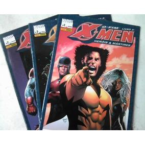 X-men O Fim Série Completa Em 3 Edições