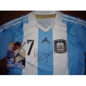 Camiseta Autografiada Por Leo Messi - Camisetas en Mercado Libre ... 6702277f8ab11