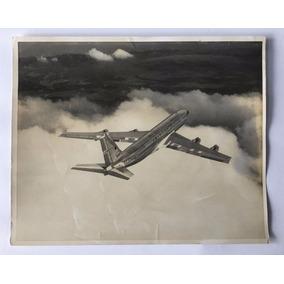 Fotografia Antiga Avião Da American Airlines - Boeing 707