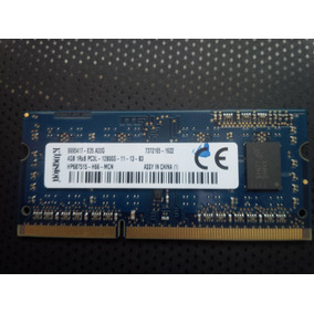 Memoria Ram Para Laptop De 4gb Ddr3 Marca Kingston