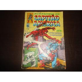 Raro Gibi/almanaque Capitão América Nº51 1983
