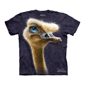 Playera 4d - Unisex Infantiles - 3525 Ostrich Totem.