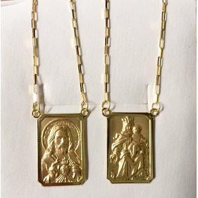 35a40e29afdf5 Colar Tetragrama Prata Colares - Escapulário de Ouro Unissex Sem ...