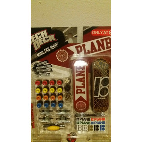 Skate De Dedo Tech Deck Pack 2 Plan B+14 Rodas Incompleto