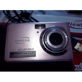 Camera Digital Newlink Prime 14.1 Mp.tela 2.5 Face Detection