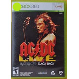 Acdc Live Rock Band Track Xbox 360 Play Magic