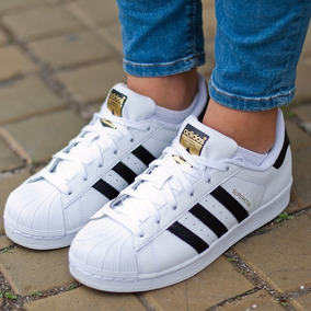 Zapatos En Adidas Damas Superstar Libre Mercado Originales pvpwOqt