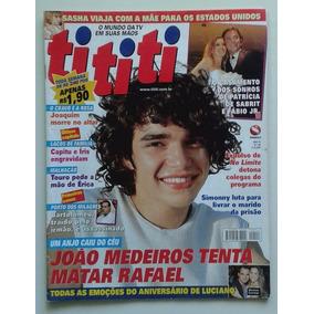 Revista Tititi 126 2001 Um Anjo Caiu Do Céu Roberto Carlos