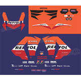Adesivo Honda Cbr 1000rr Repsol 2013 Kit Completo