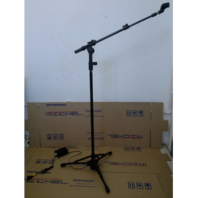 Pedestal Eletrico Automatico Para Microfone Mitchel