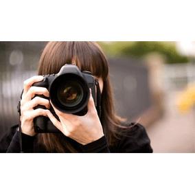 Curso De Fotografia Aprenda Fotografar! Aulas Em 4 Dvds.