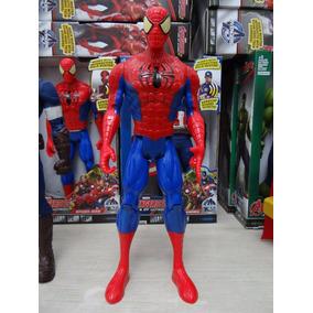 Boneco Homem Aranha Vingadores 30 Cm Com Luz E Som