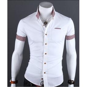 Camisa Social Masculino Tamanho P P em Paraíba no Mercado Livre Brasil 3ebfa08fa37