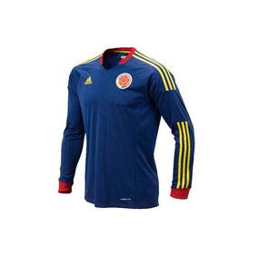 Camisa De Futbol Colombia Manga Larga Talla L e6d72480a9a6d