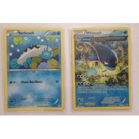 Cartas Pokémon Barboach E Whiscash - Português