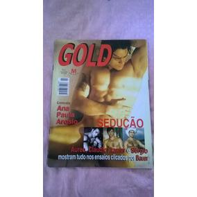 *jl Lote De 2 Revistas Gold Magazine + Vhs Em Bom Estado*