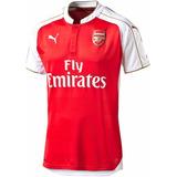 Camisa Oficial Puma Arsenal 2015 2016 I Jogador