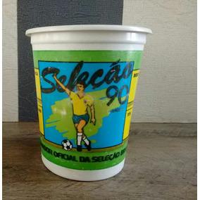 Copo Pepsi Seleção Copa Do Mundo 1990 Ataque