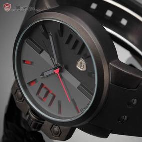Relógio Shark Salmon Series Stainless Genuino Prova D