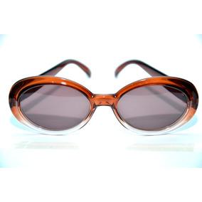 03816138f33e1 Óculos De Sol Feminino Oval Marron Modelo Kurt Pinup Retro · R  79 99