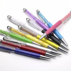 Caneta Cristal Ponta Touch Pen Ipad Iphone Tablet