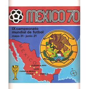 Álbum Panini Copa Do Mundo 1970 - Scaner(d05)