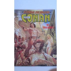 A Espada Selvagem De Conan Nº 40 Bom Estado