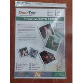 Papel Fotográfico Deertec Glossy 230gr 20 Hojas