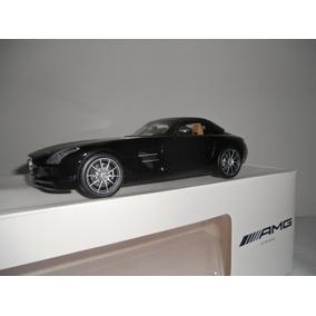 1:18 Mercedes Benz Sls Roadster Amg - Cor Preto Metalico
