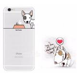 Capa Transparente Para iPhone 5 5s / Se Cão Pit Bull Terrier