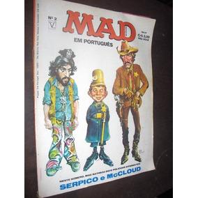Revista Mad Numero 2 Editora Vecchi
