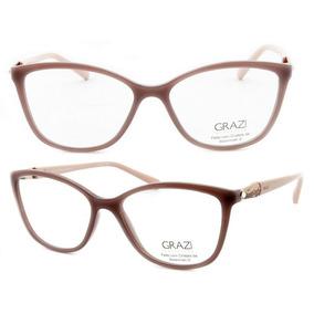 ad1480ca84088 Grazi Massafera Oculos De Grau Rmaçao Com Dourado - Óculos no ...