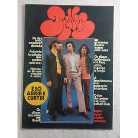 Beatles Revista Pôster Pop N°36 Anos 70 80x55 Cm