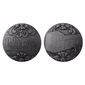 Medalha De Prata 50 Anos Casa Do Padre Toledo Original!